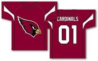 "Arizona Cardinals Jersey Banner 34"" x 30"" - 2-Sided"