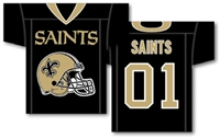 "New Orleans Saints Jersey Banner 34"" x 30"" - 2-Sided"