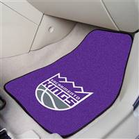 "Sacramento Kings 2-piece Carpeted Car Mats 18""x27"""