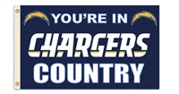 San Diego Chargers 3 Ft. X 5 Ft. Flag W/Grommetts