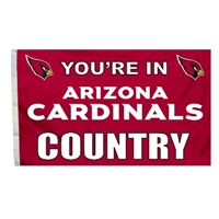 Arizona Cardinals 3 Ft. X 5 Ft. Flag W/Grommetts