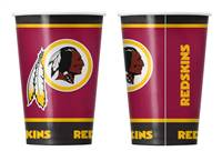 Washington Redskins Disposable Paper Cups