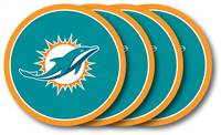 Miami Dolphins Coaster 4 Pack Set