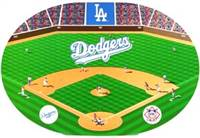 Los Angeles Dodgers Set of 4 Placemats