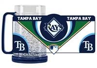 Tampa Bay Rays Mug Crystal Freezer Style - Special Order
