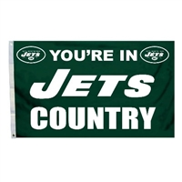 New York Jets 3 Ft. X 5 Ft. Flag W/Grommetts
