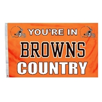 Cleveland Browns 3 Ft. X 5 Ft. Flag W/Grommetts