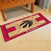 NBA - Toronto Raptors NBA Court Large Runner 29.5x54