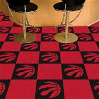 "NBA - Toronto Raptors Team Carpet Tiles 18""x18"" tiles"