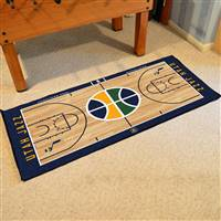 Utah Jazz NBA Large Court Runner Mat 29.5x54