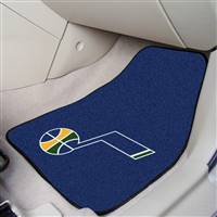 "Utah Jazz 2-piece Carpeted Car Mats 18""x27"""