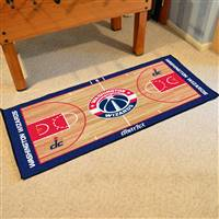 Washington Wizards NBA Large Court Runner Mat 29.5x54