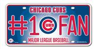 Chicago Cubs License Plate #1 Fan
