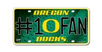Oregon Ducks License Plate #1 Fan