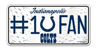 Indianapolis Colts License Plate #1 Fan