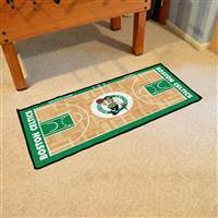 Boston Celtics NBA Court Runner Mat 24x44
