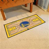 Golden State Warriors NBA Court Runner Mat 24x44