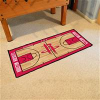 Houston Rockets NBA Court Runner Mat 24x44