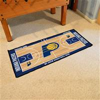 Indiana Pacers NBA Court Runner Mat 24x44