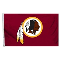 Washington Redskins 3 Ft. X 5 Ft. Flag W/Grommetts