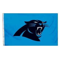 Fremont Die Carolina Panthers 3 Ft. X 5 Ft. Flag W/Grommetts