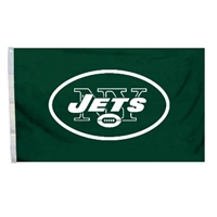 Fremont Die New York Jets 3 Ft. X 5 Ft. Flag W/Grommetts