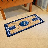 Minnesota Timberwolves NBA Court Runner Mat 24x44