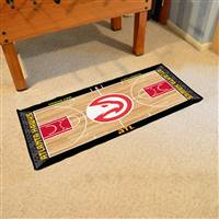 Atlanta Hawks NBA Court Runner Mat 24x44