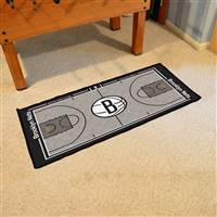 Brooklyn Nets NBA Court Runner Mat 24x44