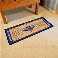 New Orleans Hornets NBA Court Runner Mat 24x44