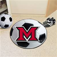 "Miami University (OH) Soccer Ball Mat 27"" diameter"