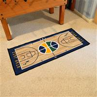 Utah Jazz NBA Court Runner Mat 24x44