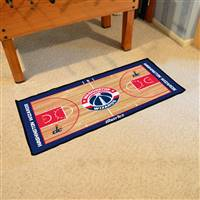 Washington Wizards NBA Court Runner Mat 24x44