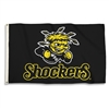Wichita State 3 Ft. X 5 Ft. Flag W/Grommets