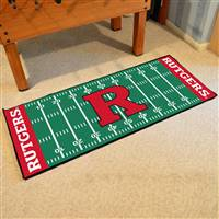 "Rutgers University Football Field Runner 30""x72"""