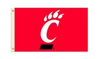 Cincinnati Bearcats 3 Ft. X 5 Ft. Flag W/Grommets