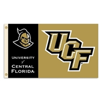 Central Florida Golden Knights 3 Ft. X 5 Ft. Flag W/Grommets