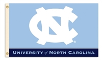 North Carolina Tar Heels 3 Ft. X 5 Ft. Flag W/Grommets