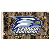 Georgia Southern Eagles 3 Ft. X 5 Ft. Flag W/Grommets - Realtree Camo Background