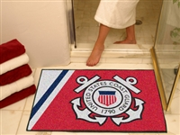 "US Coast Guard All-Star Rug 34""x45"""
