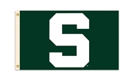 BSI Products Michigan State Spartans 3 Ft. X 5 Ft. Flag W/Grommets
