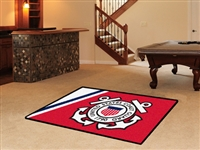 "US Coast Guard 4x6 Area Rug 46""x72"""