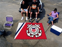 "US Coast Guard Tailgater Rug 60""x72"""