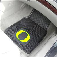 "University of Oregon 2-pc Vinyl Car Mat Set 17""x27"""