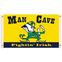 Notre Dame Fighting Irish Man Cave 3 Ft. X 5 Ft. Flag W/ 4 Grommets