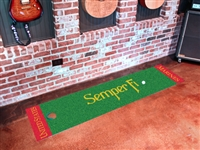 "U.S. Marine Corps Putting Green Runner Mat 18"" x 72"""