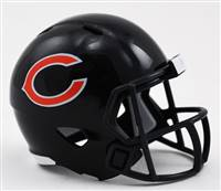 Chicago Bears Helmet Riddell Pocket Pro Speed Style