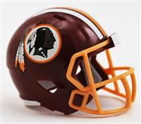 Washington Redskins Helmet Riddell Pocket Pro Speed Style
