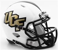 Central Florida Knights Helmet - Riddell Replica Mini - Speed Style - Matte White - Special Order