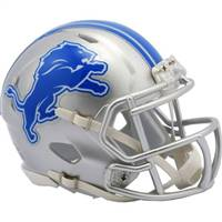 Detroit Lions Helmet Riddell Replica Mini Speed Style